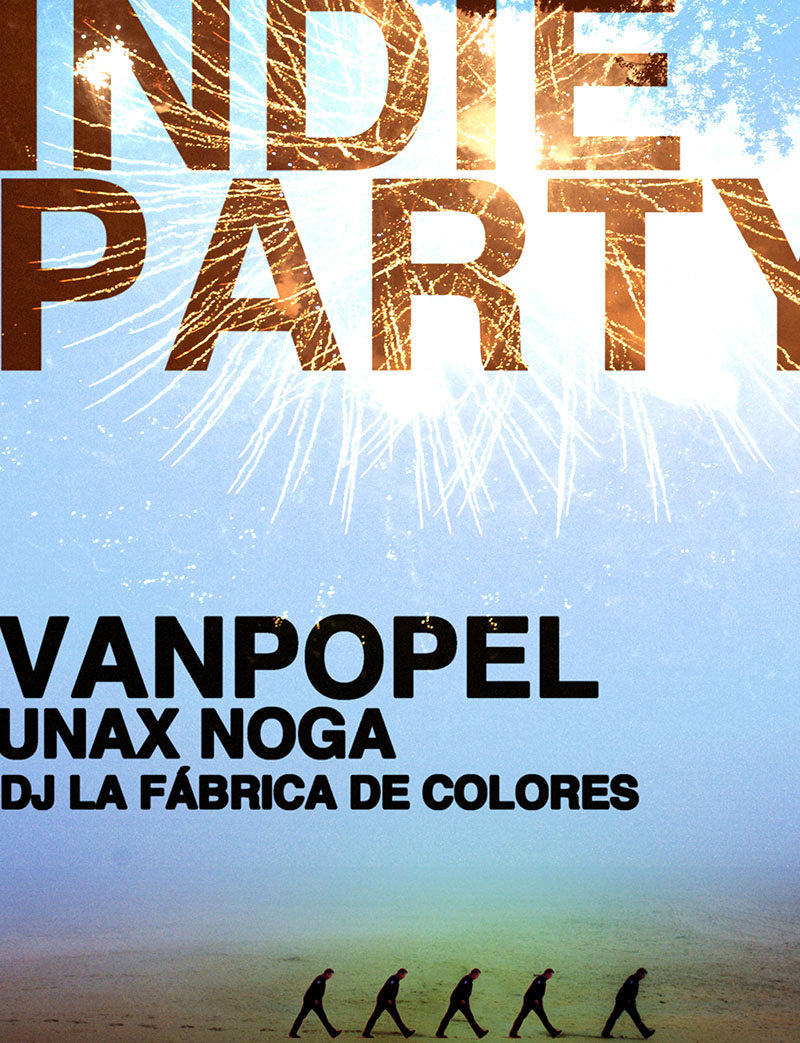 Previous Project: Indie Party. Van Popel